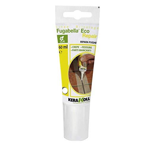 KERAKOLL FUGABELLA Eco Repair Bianco 60 ml RIPARA FUGHE Crepe Fessure Parti MANCANTI