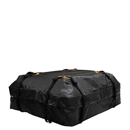 ADFIOADFH 112x84x44cm Impermeable Coche Techo Tapa Tapa Portador Bolsa de Carga Almacenamiento de Equipaje Bolsa de Cubos en la azotea Viaje de Viaje SUV (Color : Black)