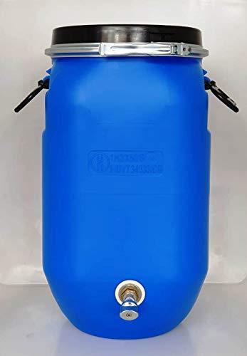 PLASTICOS HELGUEFER-Bidon 30 litros ballesta con grifo metalico
