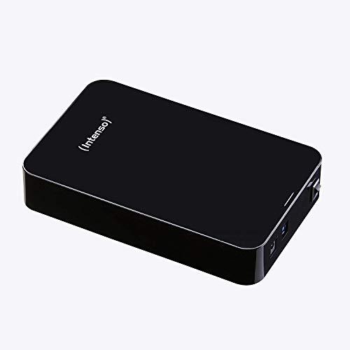 Intenso Memory 4TB Center externe Festplatte (8,9 cm (3,5 Zoll), 5400rpm, 32MB Cache, USB 3.0) schwarz