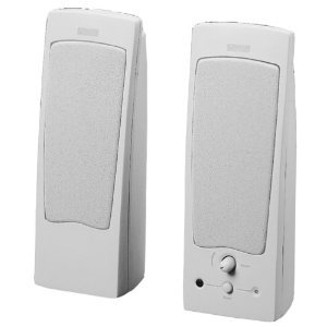 Altec Lansing OEM ACS21W 2 Piece Speaker System