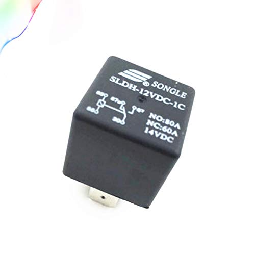 Songle Relay SLDH-12VDC-1C a Set of Conversion 60A14VDC 5 feet Wide pin Socket Type 4142