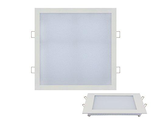 24w Slim Flach LED Panel weiss Einbaustrahler Unterputz Einbauleuchte Einbaulampe Deckenleuchte Deckenlampe Lampe Eckig 30x300 cm Warmweiss