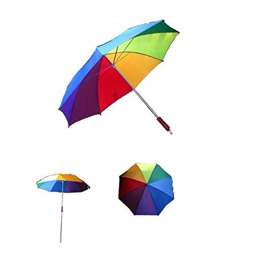 AK Sport Regenschirm Sonnenschirm, Mehrfarbig, One Size