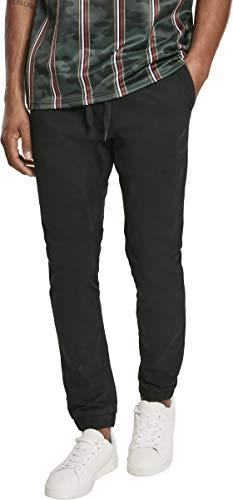 Southpole Męskie spodnie ze streczu, spodnie stretchowe dla mężczyzn z elastycznym ściągaczem dostępne w wielu kolorach, rozmiary S - XXL, czarny, XL