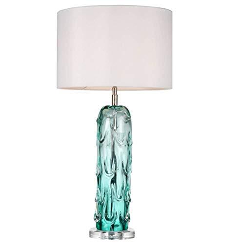 JFHGNJ tischlampe Dekorative Glas Tischlampe Fließende Form Murano Glas Tischlampe Villa Dekoration