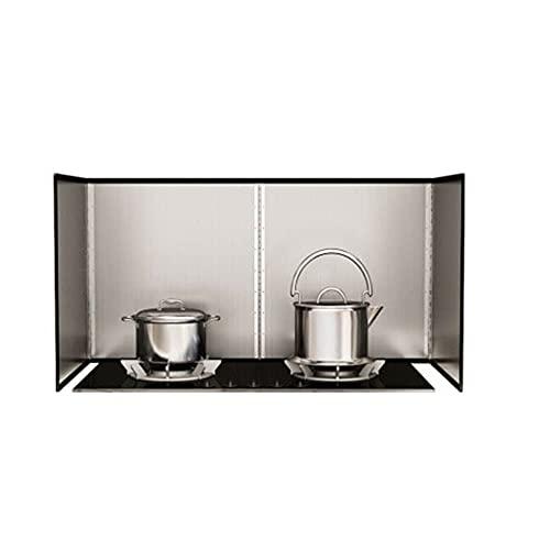 Pantallas de Salpicaduras de Acero Inoxidable La Nueva Placa de cocción Plegable aislada, Deflector de Aceite, Cocina, Salpicaduras, Estufa de Gas de Acero Inoxidable, Cocina, Protector de salpicadur