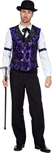 Wilbers & Wilbers Saloon Gambler Spieler Croupier Kostüm Wilder Westen Poker