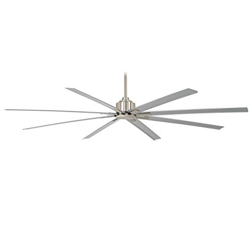 Minka Aire Xtreme H2O 84 in. Indoor/Outdoor Brushed Nickel Wet Ceiling Fan with Remote Control