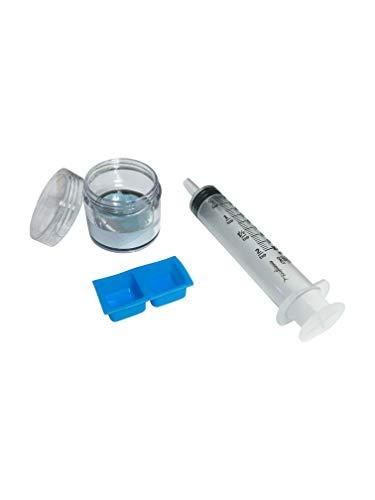 Gallium Liquid Metal 50 Grams, 99.99% Pure Melting Gallium - 50g Container, Syringe, Silicone Mold,...