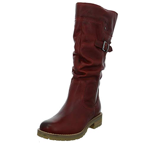 Jana Damen Stiefel Winterstiefel in Borddeaux 26607-549 rot 783271