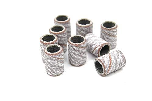 Schleifhülsen Schleifbänder mit 1 x Mandrel Zebra 100 Stück (240 fein)