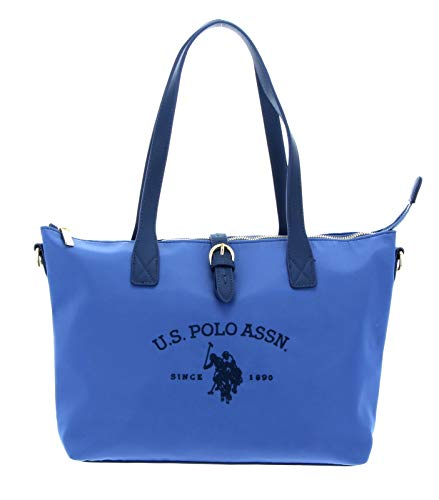 U.S. POLO ASSN. Patterson Shopping Bag M Light Blue