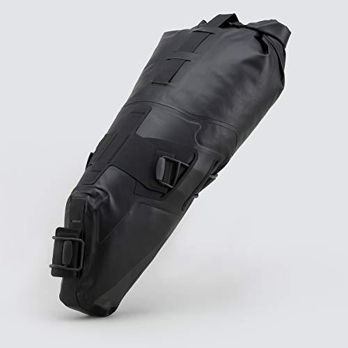Roswheel Road Seat Pack para sillín, Unisex, Negro, 8 litros