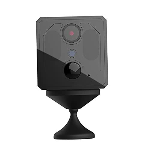 H HILABEE Cámara espía Oculta compacta HD WiFi Mate de ángulo de visión Amplio de 120 Grados para Seguridad del hogar almacén Interior Tienda de