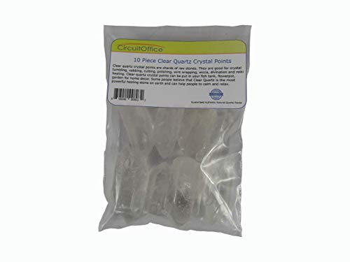 MyHomeLux® Bergkristall, Bergkristallspitzen natur, 10 Spitzen.