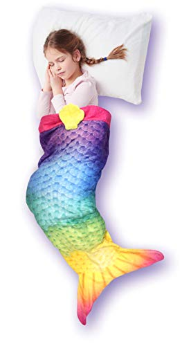 BEST DIRECT Sleepfun Bag Manta Cola Sirena Niñas