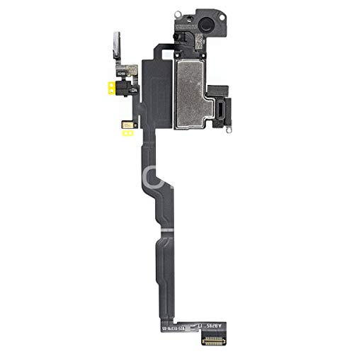 Afeax Compatible with iPhone Earspeaker Light Sensor Flex Cable Incl Mic for iPhone XR 6.1 inch