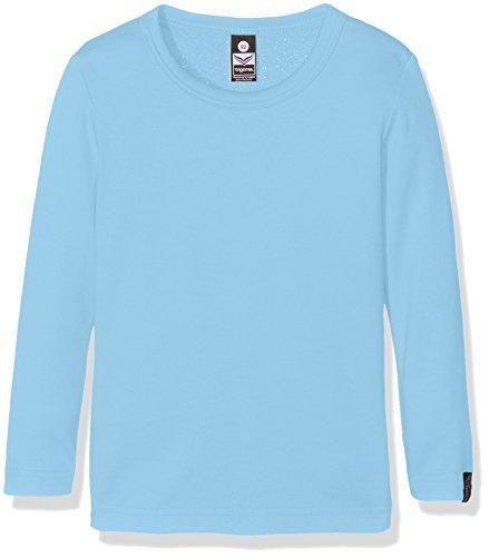 Trigema Mädchen Langarmshirt 202501, Blau (Ice-Blue 040), 152