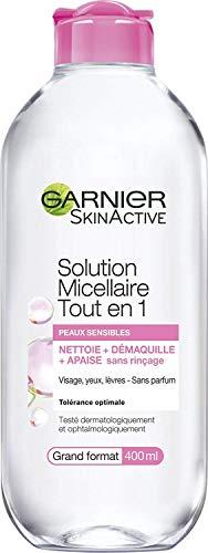 Garnier Skin Active Mizellen-Lösung, All in 1,für sensible Haut, groß, 400ml–1 Stück