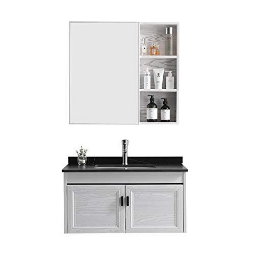 KCCCC Conjunto de gabinetes de baño Mueble de baño de Tablero de...