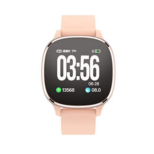 Smartwatch, Hffan Fitness Armband Uhr mit Blutdruckmessung Wasserdicht Smart Watch Mit Pulsmesser Schlafmonitor Schrittzähler Kalorienzähler Armbanduhr für Kinder Damen