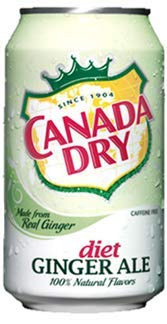 Canada Dry Diet Ginger Ale - US Import! (24 Dosen x 355ml)