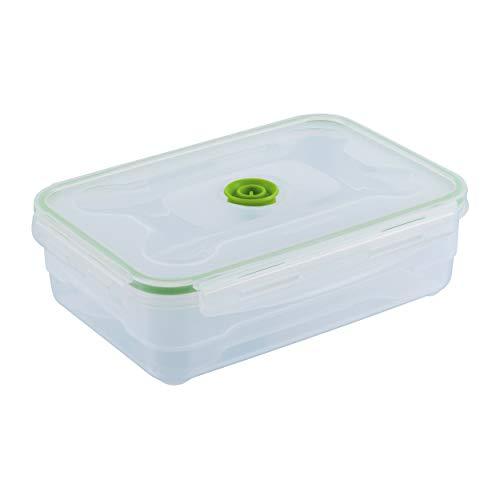 KUHN RIKON Caja Vacuum Saver 1,2l, Color Blanco y Verde