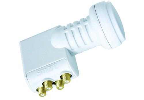 Smart Quattro Universal LNB TQ Titanium Edition; 0,1 dB, Durchmesser 40 mm