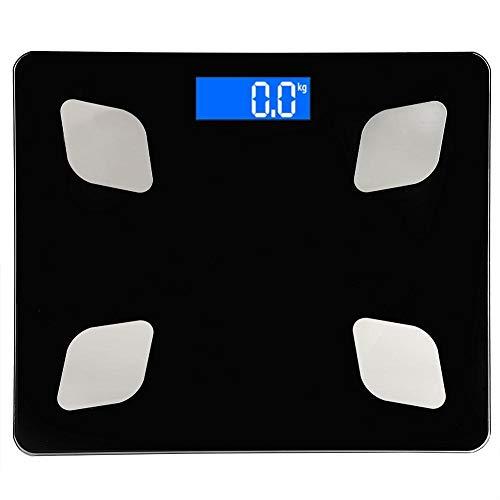 Tarente Electrónicos portátiles Inteligente Que Pesa la Escala de Grasa Corporal Escala for la función Bluetooth 3 kg? 180kg