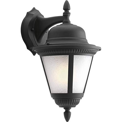 Progress Lighting P5863-31WB Traditional One Light Wall Lantern from Westport Collection in Black Finish