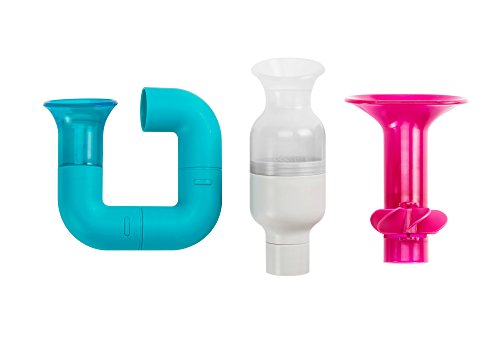 Boon Tubes Builder Bath Toys Set (Pack of 3)