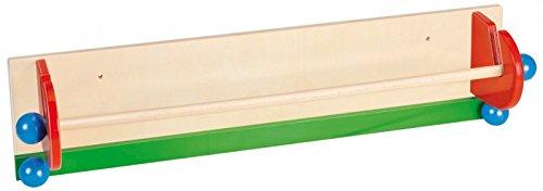 Nemmer - Papierabroller aus Holz für Papierrolle zum Malen - Zeichenpapier-Rolle Zubehör Endlospapier Malpapier