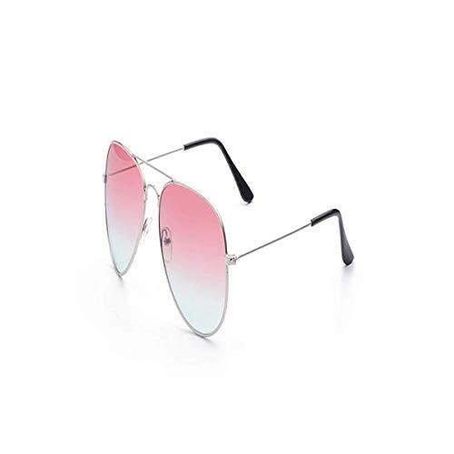Daawqee Gafas de sol,Gafas para fiestas, Aviation Sunglasses Women Men Gradient Lens Frog Mirror Sun Glasses Driving Eyewear Gafas Oculos