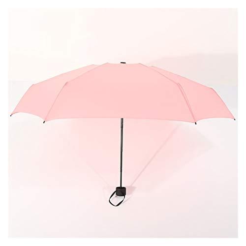 XINSHENG Store Moda 5 Paraguas Plegable Lluvia Mujeres Paraguas de los Hombres...