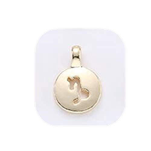 yichahu 12 Constelaciones del zodiaco conectores de acero inoxidable moda collar pulsera joyería accesorio (6)