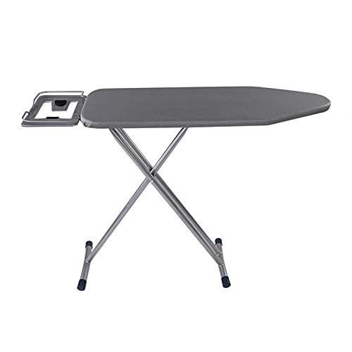 PBOHUZ Mesa de Planchar Mesa de Planchar ignífuga portátil Mesa de Planchar Plegable de Altura Ajustable para Uso doméstico de lavandería