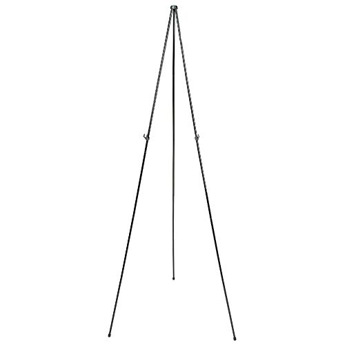 Quartet Easel Stand, Collapsible, Portable Display Stand for Home School Supplies, Home Office Supply Tripod for Posters, Paintings, Art or White Boards, Base 63' Max. Height, Supports 5 lbs. (29E)