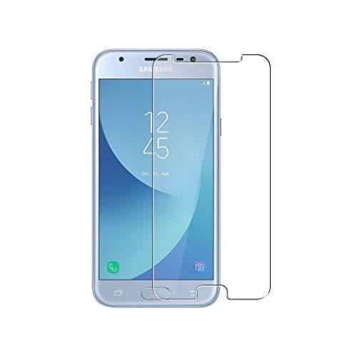 3 Unidades Samsung Galaxy J3 2017 Protector de Pantalla, WEOFUN Cristal Templado para Samsung Galaxy J3 2017 Vidrio Templado Protector [0.33mm, 9H Dureza, Alta Transparencia]