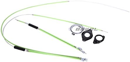 BMX Bike Gyro Brake Cables Front + Rear (Upper + Lower) Spinner Rotor Set Kit