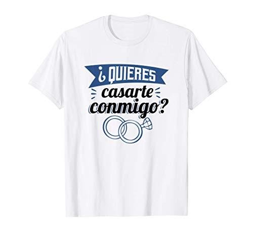 Quieres casarte conmigo casarse | will you marry me boda Camiseta