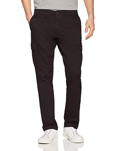 Black Cargo Pant Men's Slim Fit