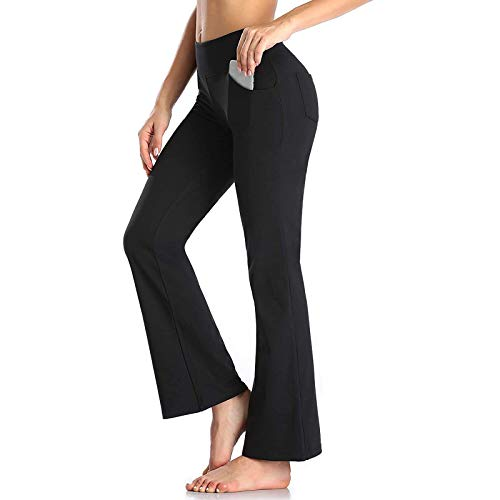 MEITING Hosen Damen Mode Frauen Einfarbig Freizeithose Lange Hose mit weitem Bein,Trainingshose Damen Jogginghose High Waist Sporthose Lang Sweathose Laufhosen Baumwolle Yogahosen