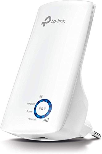 TP-Link Répéteur WiFi - Amplificateur WiFi N300, Mbps, WiFi Extender, WiFi Booster, 1 Port Ethernet, jusqu'à 90㎡,Compatible avec toutes les box internet, Blanc, TL-WA850RE