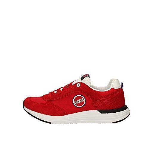 COLMAR Herrenschuhe - Sneaker Travis X-1 Bold 008 - red, Schuhgröße:44