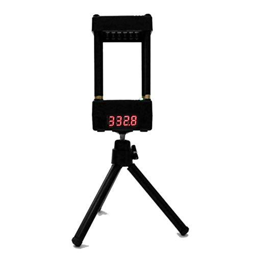 YanYun MüNdungsgeschwindigkeitsmesser Velocimetrie Geschwindigkeitsanemometer Valenztester mit Stativ CS MüNdungs-Tachometer-Tester