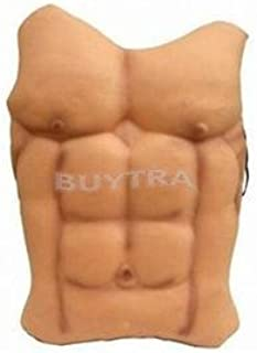 Party Diy Decorations - Halloween Funny Decoration Fake Muscle Men Belly Chest Skin Eva Foam Dress - Decorations Party Party Decorations Muscle Fake Dress Leather Fashion Chest Makeup Ela
