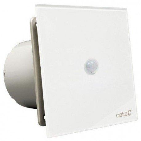 Cata E 100 Sensor Extractor de Baño, 8 W, Cristal Blanco