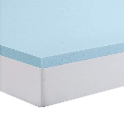 Cloud9 Gel Queen 4 Inch 100% Gel Infused Visco Elastic Memory Foam Mattress Topper