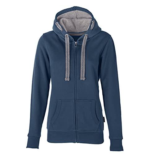 HRM Damen Jacket F Kapuzenjacke, Denim, S